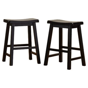 Whitworth 24  Bar Stool (Set ...  sc 1 st  Wayfair : padded saddle bar stools - islam-shia.org