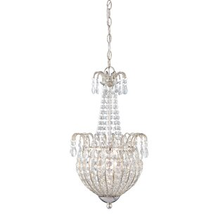 Corin 3-Light Empire Chandelier by House of Hampton