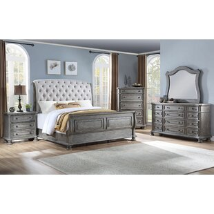 Piland Arched 12 Drawer Dresser with Mirror