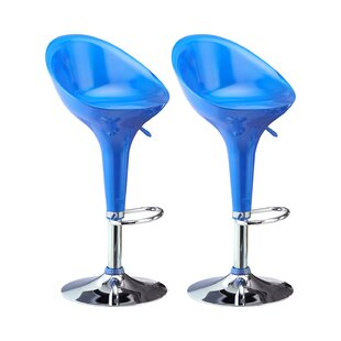 Lexi Adjustable Bar Stool Set (Set Of 2) By Metro Lane