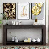 64 Solid Wood Console Table by Winston Porter