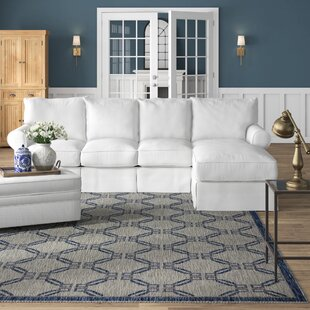 Jameson Slipcovered Sleeper Sectional by Birch Lane™ Heritage