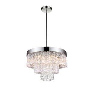 CWI Lighting Carlotta 6-Light LED Chandel..