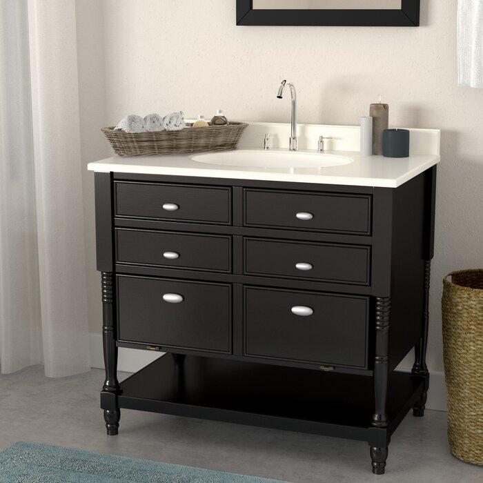 Barbey 36 Single Bathroom Vanity Set