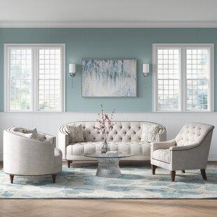 Lenum 3 Piece Living Room Set by Rosdorf Park