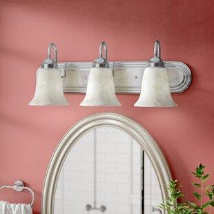 Tiverton Strip 3-Light Vanity Light ByThree Posts