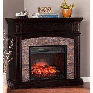 River Rock Electric Fireplace   Wayfair