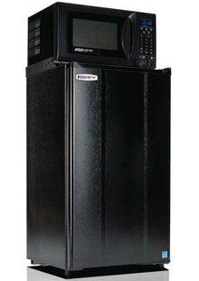 Safe Plug 3.6 cu. ft. Compact Refrigerator with Microwave