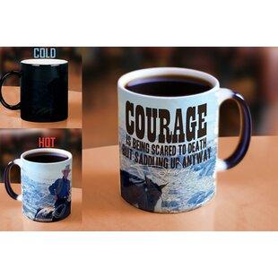 John Wayne The Duke Courage Heat Reveal Ceramic Coffee Mug