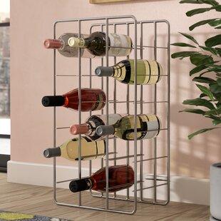 18 Bottle Floor Wine Rack by Rebrilliant