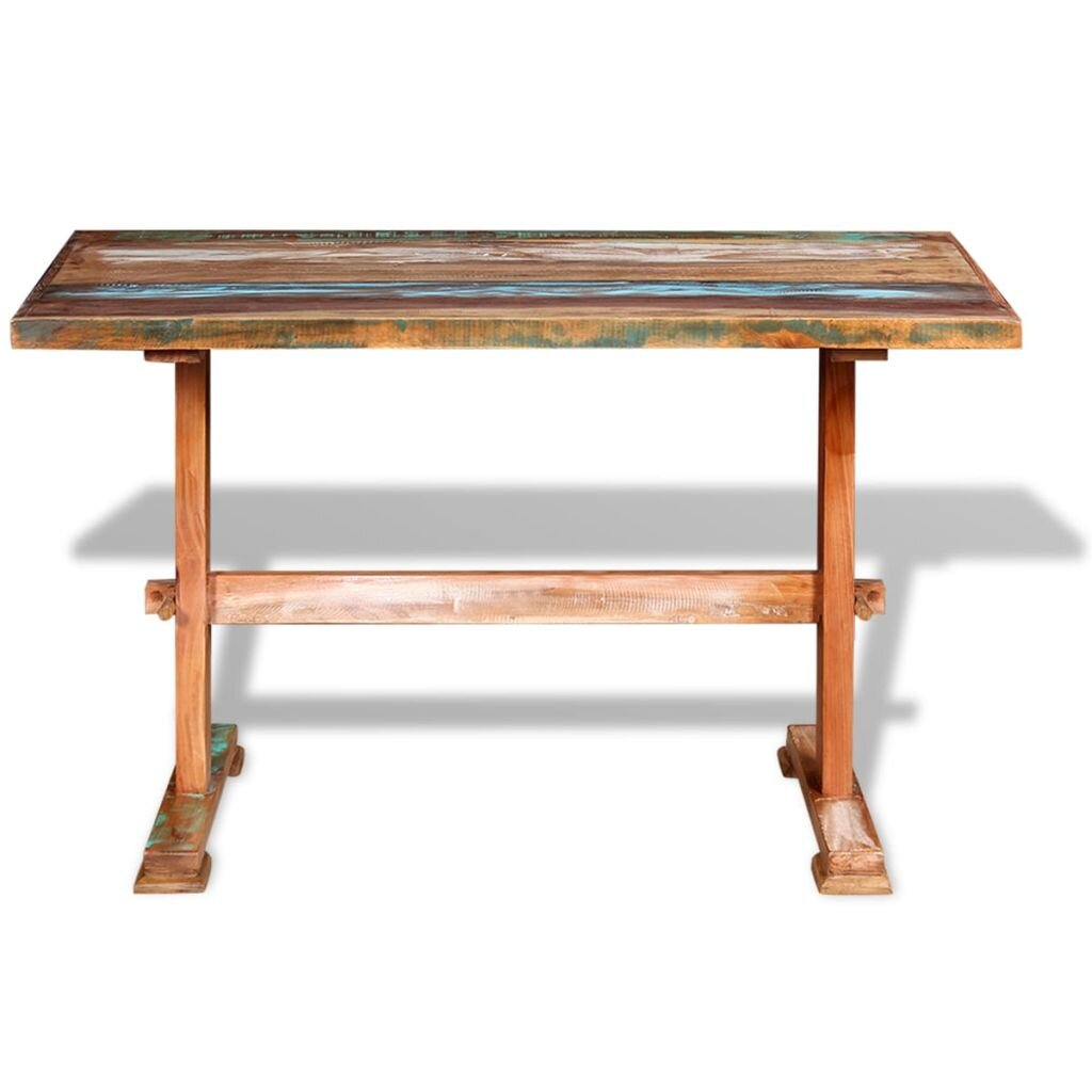 Global Inspired Reclaimed Kitchen Dining Tables You Ll Love In 2021 Wayfair