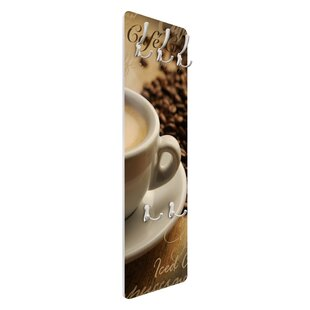 Coffee Scents Wall Mounted Coat Rack By Symple Stuff