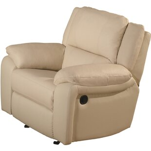 Darby Home Co Orchard Lane Leather Recliner