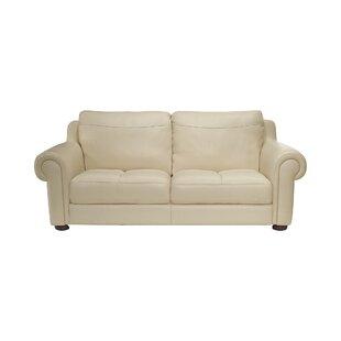 Lauren Leather 3 Seater Sofa By Rosalind Wheeler