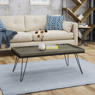 Brackman Coffee Table with Tray Top