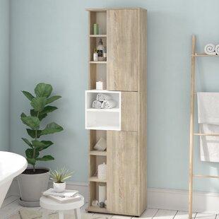 Burman 50cm X 182cm Free Standing Cabinet By Mercury Row