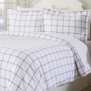Yemina Extra Soft Printed Flannel Duvet Cover Set