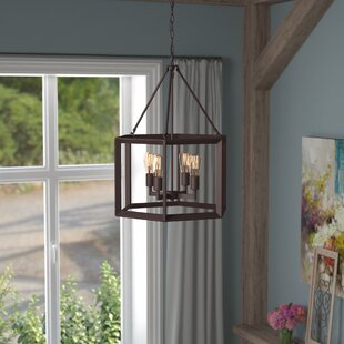 Compare Bouvet 4-Light Foyer Pendant By Laurel Foundry Modern Farmhouse