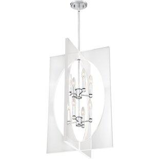 Orren Ellis Reichert 8-Light Square/Rectangle Chandelier
