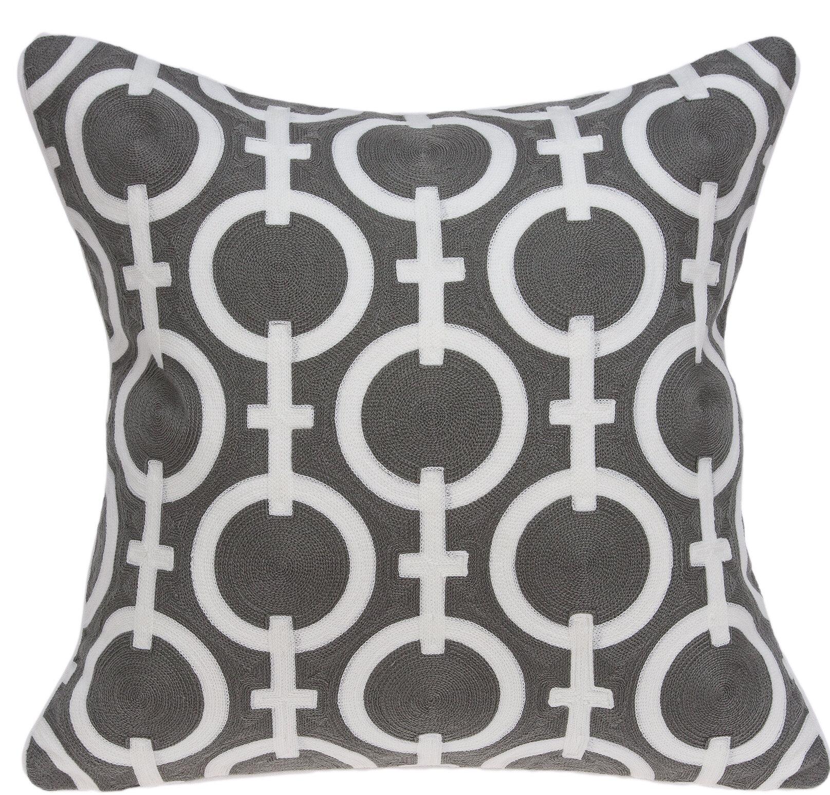 Ebern Designs Stegall Cotton Throw Pillow Wayfair