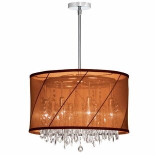 Radionic Hi Tech Saffron 6-Light Pendant