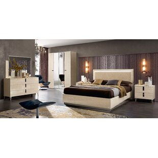 Staley 4 Piece Bedroom Set By Canora Grey