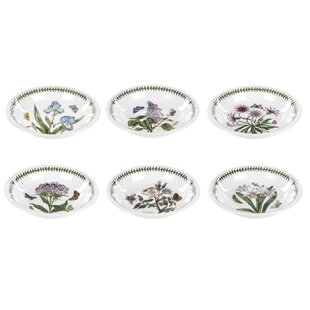 Botanic Garden Pasta Bowl Set (Set Of 6) By Portmeirion