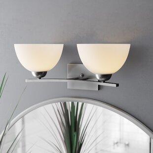 Babin 2-Light Vanity Light by Wrought Studio