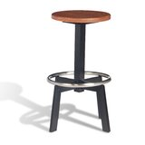 Roche Swivel Solid Wood Adjustable Height Bar Stool (Set of 50) by sohoConcept
