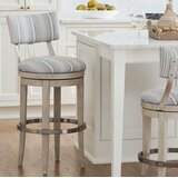 Malibu Bar & Counter Swivel Stool by Barclay Butera