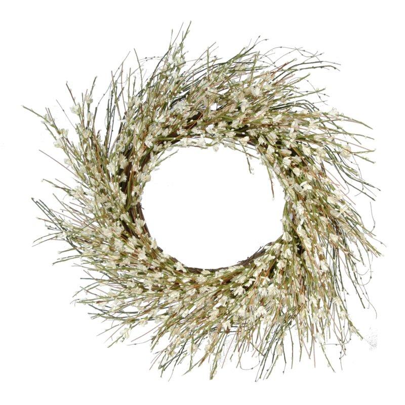 "Pear Blossom 20"" Wreath"