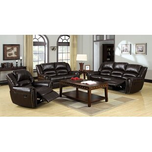 Wallace Reclining Configurable Living Room Set Red Barrel Studio