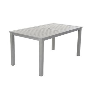 Yohan Metal Dining Table by Wade Logan