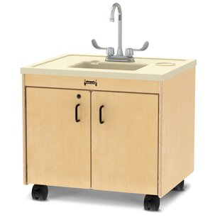 Clean Hands Helper 23.5 x 28.5 Portable Handwash Station with Faucet by Jonti-Craft