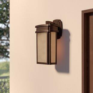 Loon Peak Carriage Club 1-Light Outdoor Wall Lantern