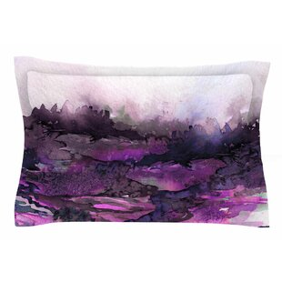 Ebi Emporium 'The Long Road 5' Watercolor Sham by East Urban Home Modern