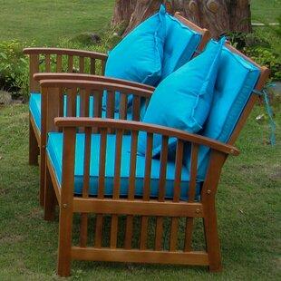 Sabbattus Arm Chair with Cushion (Set of 2)