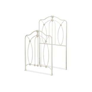 Affordable Yakhlef Wrought Iron Headboard and Footboard Bed By Mistana