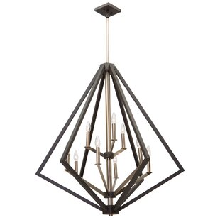Breezy Point 9-Light Geometric Chandelier by Artcraft Lighting