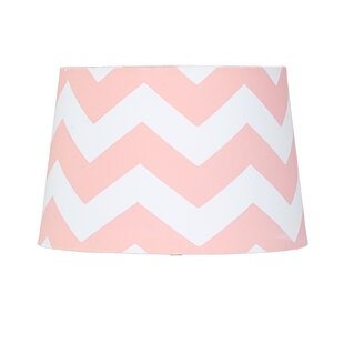 Hot pink lamp shade wayfair 11 textile empire lamp shade aloadofball Gallery