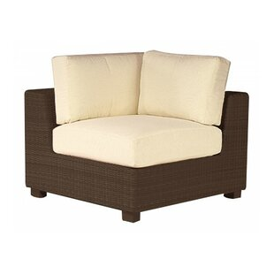 Woodard Montecito Corner Sectional Unit Patio Chair with Cushions