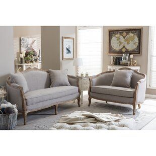 Online Reviews Celine 2 Piece Living Room Set by Beachcrest Home Reviews (2019) & Buyer's Guide