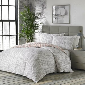 Updegraff 100% Cotton Reversible Duvet Cover Set