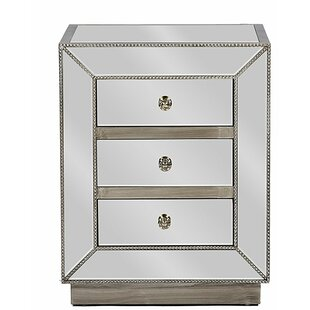 Martinson 3 Drawer Nightstand (Set of 2)