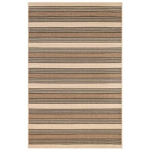 Sessions Stripe Brown/Ivory Indoor/Outdoor Area Rug
