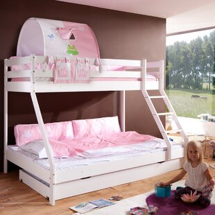 Discount Fairman Bunk Bed With Drawer And Textile Set