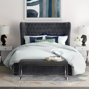 Thibaut Upholstered Platform Bed by Willa Arlo Interiors