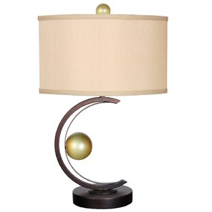 You Will Remember Stay with Me 27 H Table Lamp with Drum Shade