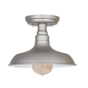 Stephine 1-Light Semi Flush Mount