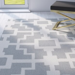 Regent Hand-Hooked Gray/Ivory Indoor/Outdoor Area Rug
